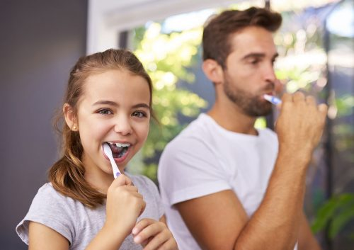 Regular Teeth Brushing
